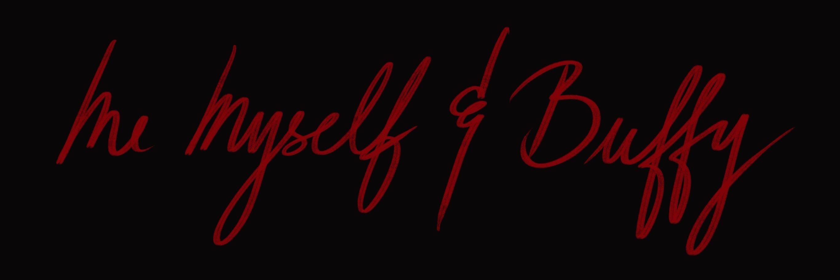 Logo for Me, Myself & Buffy